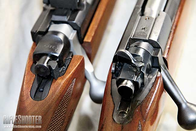 Ruger M77 Hawkeye vs  Winchester Model 70