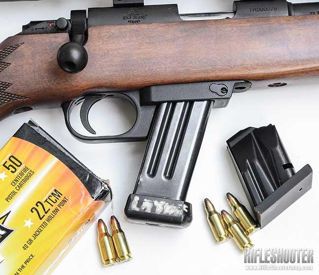.22 TCM Cartridge Magazine Options
