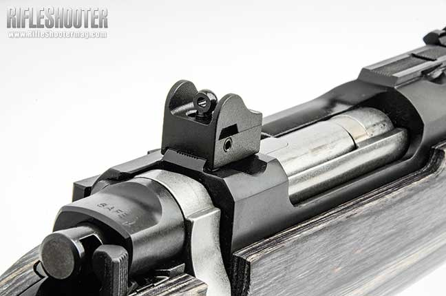 Ruger GunSite Scout Rifle Rear Sight
