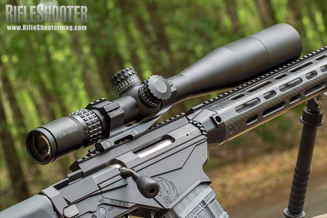 Ruger Precision Rifle upgrade Elcan SpecterDR 1.5-6x Riflescope