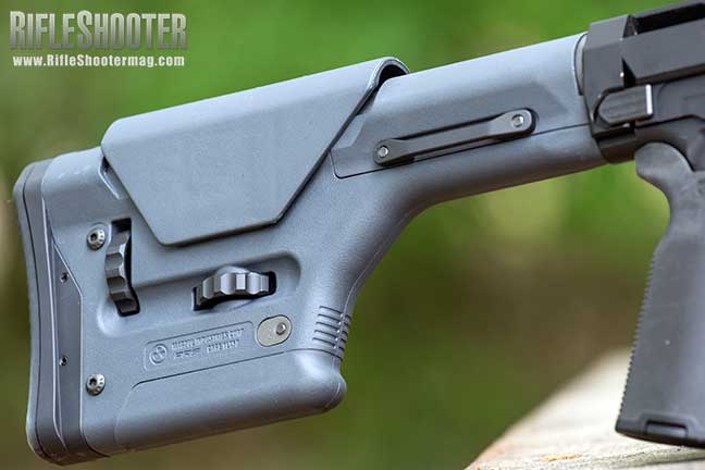 Ruger Precision Rifle upgrade Magpul PRS Stock