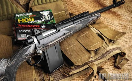 A close look at the Ruger Gunsite Scout Rifle chambered in .223 Rem