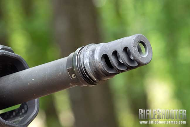 Ruger Precision Rifle upgrade Rugged Suppressors 3-Port Brake