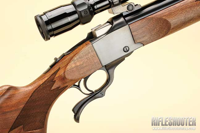 Ruger No. 1 Stock Inletting