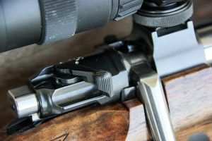 The three-position safety has been moved from the rear of the bolt to a wing-type a la the Winchester Model 70. Other changes from the original 98 include a much better trigger.