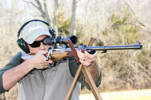 The M 98 Magnum's recoil was quite tolerable, which would allow quick follow-up shots in the field—something that takes on added importance with dangerous game.
