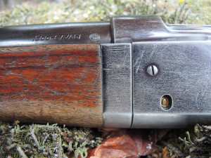 The Model 99 incorporates a novel cartridge counter in the receiver that allows the shooter to see how many rounds are in the magazine.