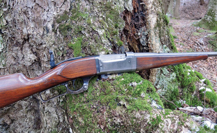 Hunting with an exquisite piece of american firearms history - the Savage Model 99.