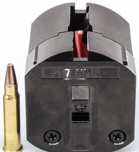 While the rifle functioned flawlessly for Simpson, he noted the .17 HMR magazine proved fairly difficult to load.