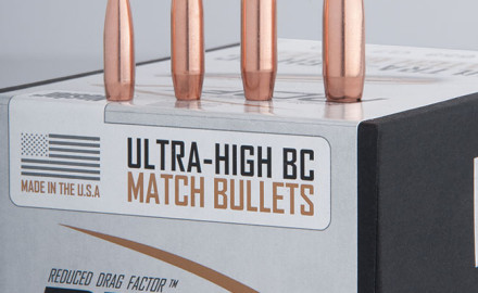Named the RDF for Reduced Drag Factor, the company's new bullet features refinements engineered to combat air friction.
