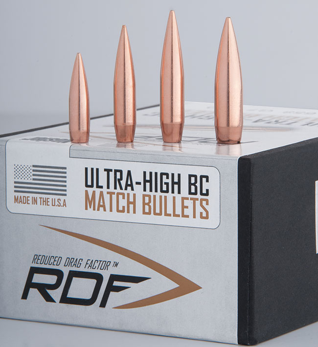 Nosler's RDF bullet - A new option for long range competition shooters