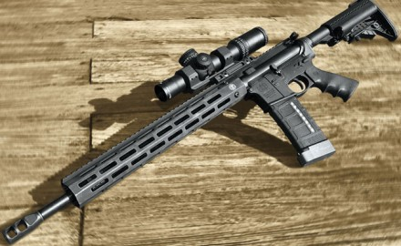 Smith & Wesson's newest AR-15 is aimed squarely at the 3-Gun crowd but has features any AR shooter is sure to appreciate.
