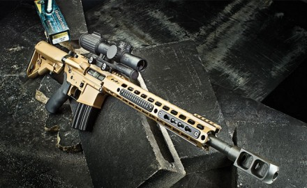 Alexander Arms' Beowulf Tactical puts .50 caliber power in the AR-15 platform.