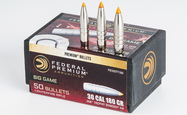 Federal's Trophy Bonded Tip bullet is now available as a component. It offers great penetration and performance, and knowing how to load it could really pay off for hunters.