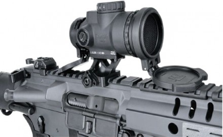 Trijicon's new version of its MRO, the Patrol, features a glare eliminator, flip-up lens covers and a new and better mounting setup.