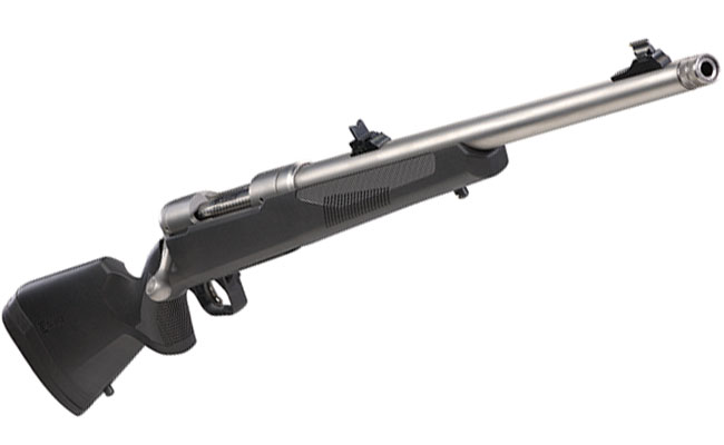 New Savage 110 Brush Hunter Stops the Toughest Game in Its Tracks