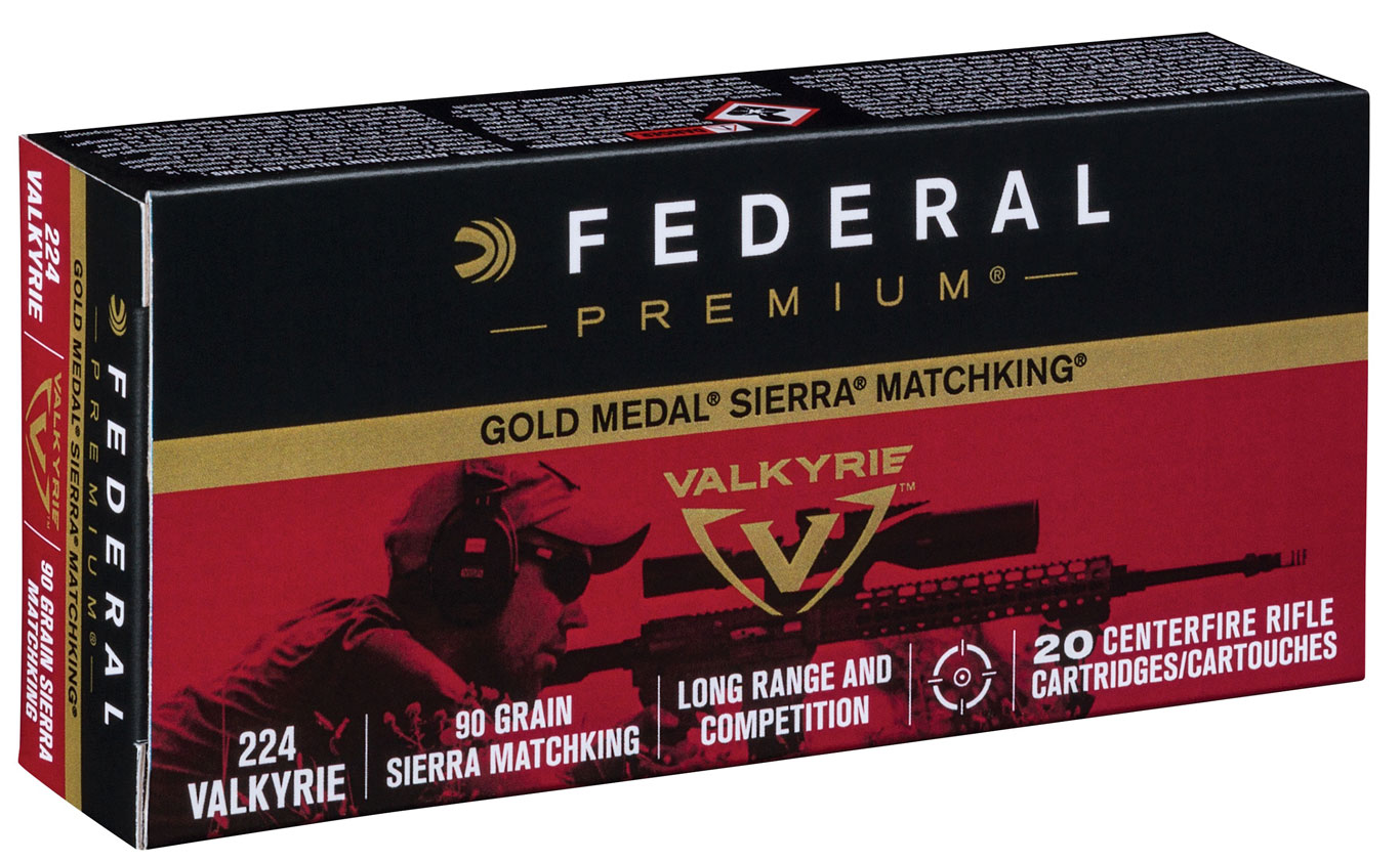 Federal Premium Introduces Gold Medal Sierra MatchKing 224 Valkyrie
