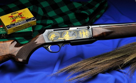The special-edition Browning BAR Safari Anniversary model celebrates a special rifle.