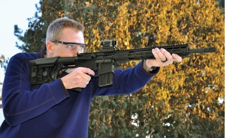 No, not the Bambi character but a new .450 Bushmaster from the folks who used to build Bushmaster AR-15s.