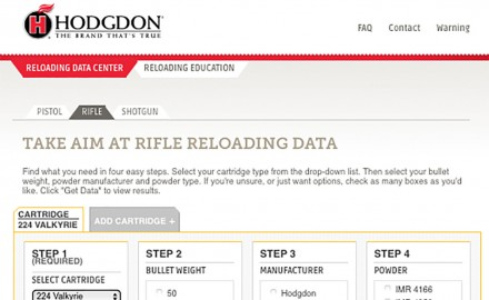 Hodgdon Powder Company announced the launch of load data for the new 224 Valkyrie cartridge.