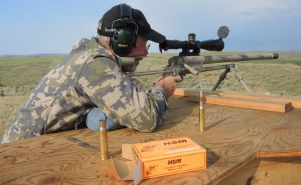 Editor J. Scott Rupp had a chance to shoot Noreen Firearms' ULR rifle, chambered in .50 BMG.