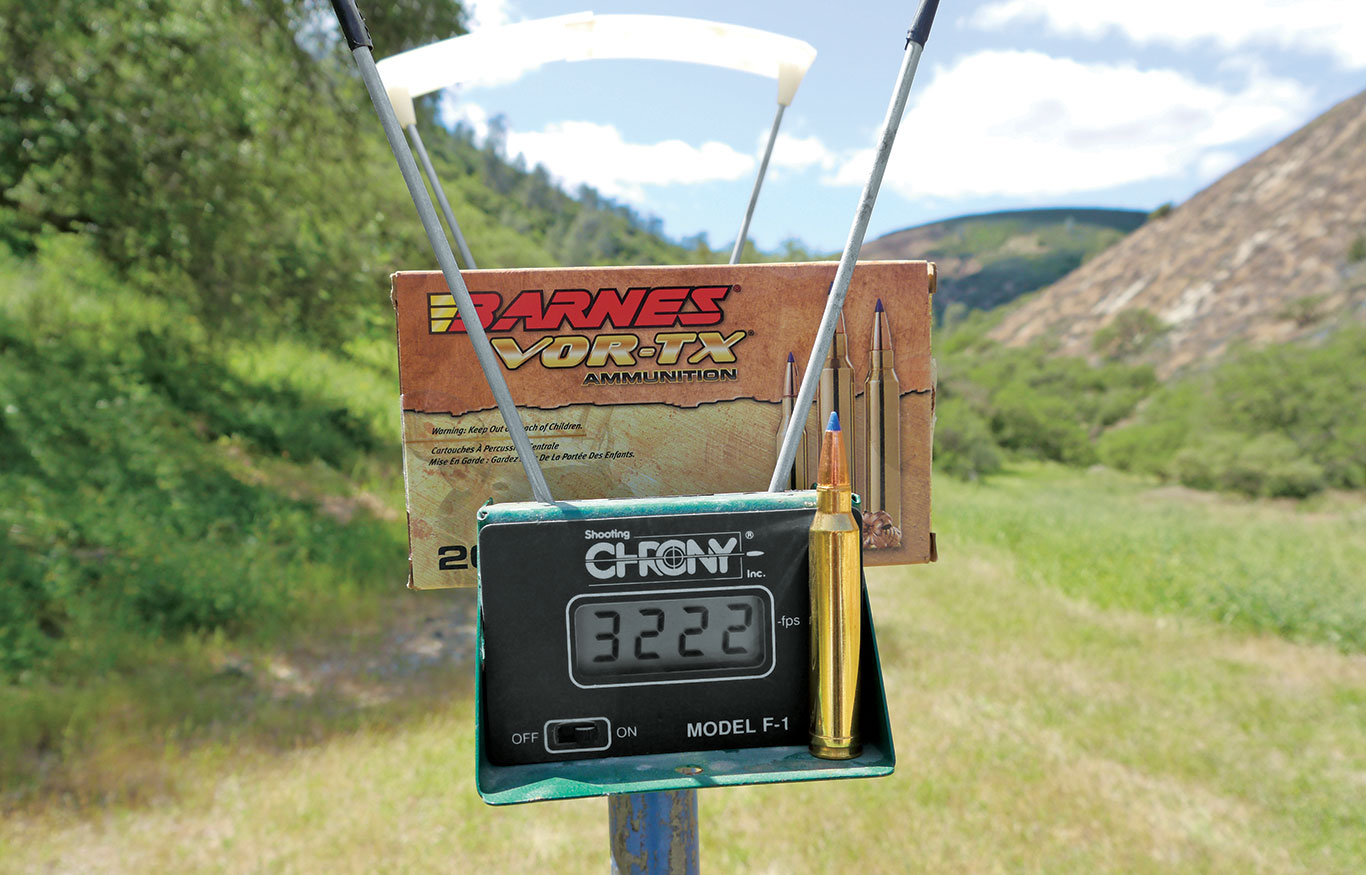 Chronographs are a vital tool for determining what a particular load does out of your rifle, providing a baseline for generating accurate ballistic data.