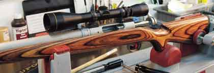You Can Build An Economical Custom Varmint Rifle--Quickly!