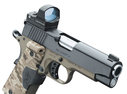 By Shooting Times Staff Report    Leupold's new sight can be used with nearly any