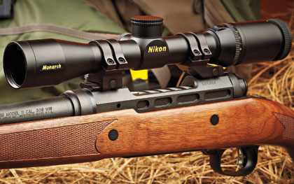 The Lightest Wood-Stocked Rifle?