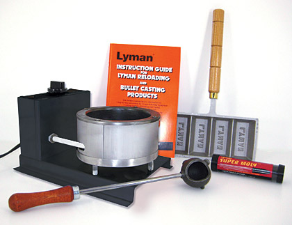 This kit offers the economy-minded bullet caster everything needed to start casting bullets.