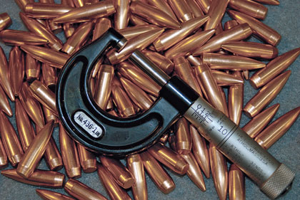 Making Accurate Bullets