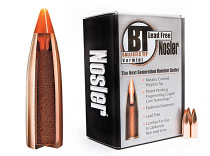 This bullet is designed to perform--and cost--the same as Nosler's legendary standard Ballistic Tip but without the lead...