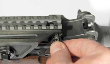 Here's how to properly put an optic mount on the finest battle rifle ever produced.