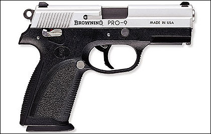 Browning introduces its new Pro-9 and Pro-40 double-action, polymer-frame