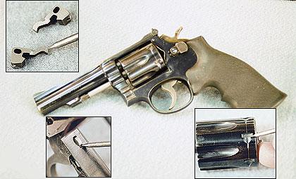 Tightening A DA Revolver's Cylinder
