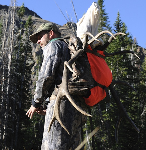 When elk hunting deep in the backcountry a quality pack such as this one from Badlands is paramount.
