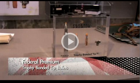 Jason Nash with Federal Premium talks to us at SHOT Show 2008 about the new Trophy Bonded Tip