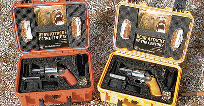 These new heavy-hitting high-tech revolvers provide serious outdoorsmen with the security of a
