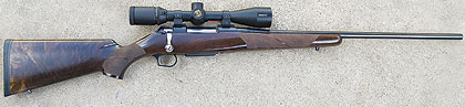Thompson/Center's bolt-action rifle couldn't be more aptly named.  Thompson/Center has done well
