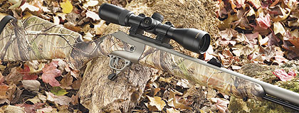 With its new toggle-lock action and tip-up barrel, it's a new breed of muzzleloader.  Each time I