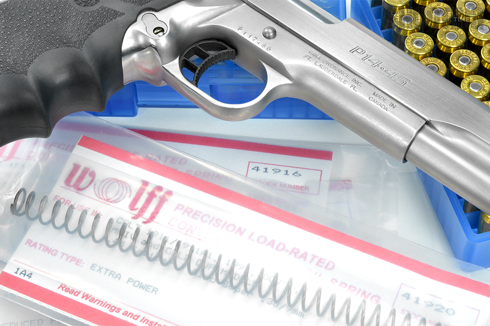 How Balancing Semi-Auto Pistol Recoil Spring Rate with Ammo