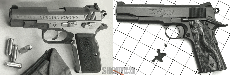 Terrific TEN: 10mm Auto Then & Now