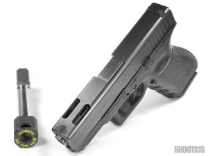 Pistol Recoil Reduction: Ports vs  Compensator