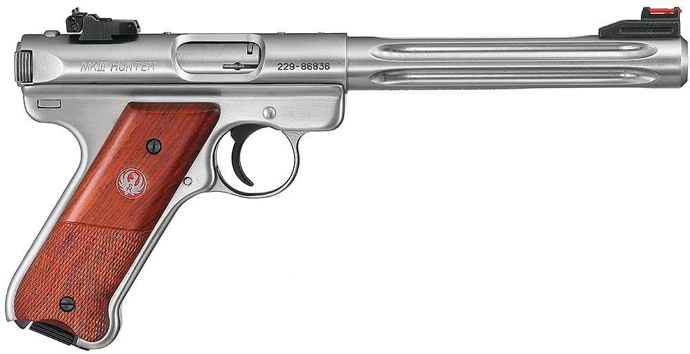 Ruger-rimfire-Mark-pistol-III-Hunter