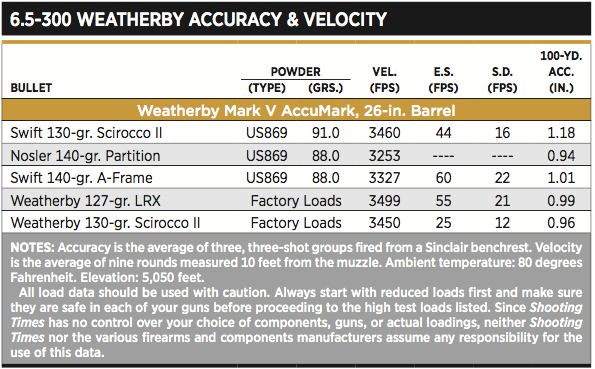 The 6 5-300 Weatherby Magnum