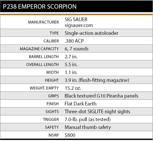 P238-Emperor-Scorpion-Specs