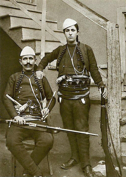 Albanians and their Revolvers
