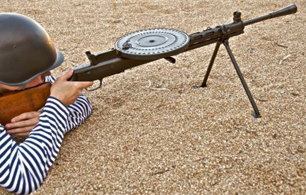 Century International Arms' semi-auto version of the DP-28 is an accurate replication of a very important weapon in the history of military small arms.