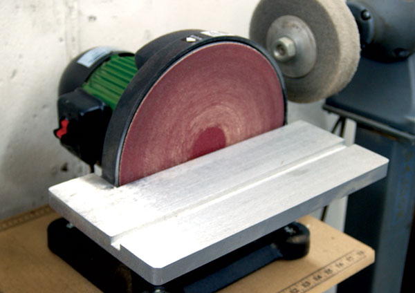 Disk Sander Grit for Gun Recoil Pads?