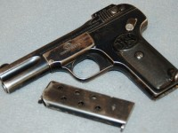 The Browning Model 1900 Pistol